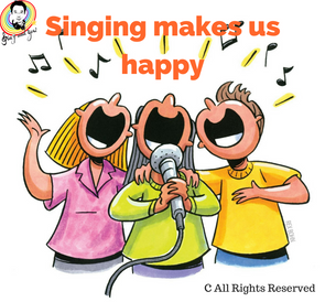 Does Singing make you Happy? 唱歌能令你開心嗎?