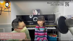 學唱歌 - FROZEN | Let It Go COVERED by SAYMusic Emma -跟AGT Celine's Vocal Coach Steve Learning Singing