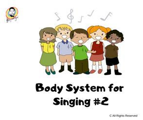 Body System for Singing #2 唱歌時所需的身體結構