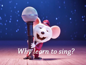 Why learn to sing?