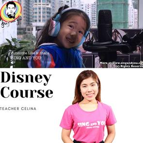 迪士尼唱歌小組課程Disney Course