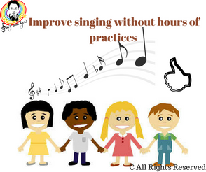 Practices singing without hours of practices every week 不用每天練習多個小時,便能進步唱歌技巧