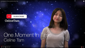 One Moment In Time with Lyric covered by Celine Tam