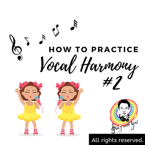 How to practice vocal harmony? pt.2 如何練和聲才不會被帶跑? pt.2