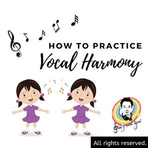 How to practice vocal harmony? pt.1 如何練和聲才不會被帶跑?pt.1