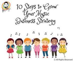 10 Steps to Grow Your Music Business Strategy. #1