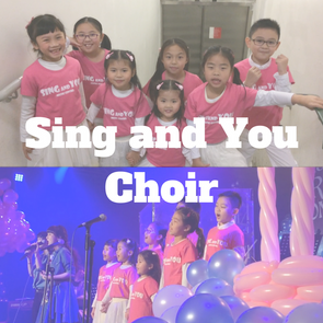 參加我地Sing and You 合唱團 Join Sing and You Choir