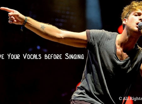Improve Your Vocals before Singing