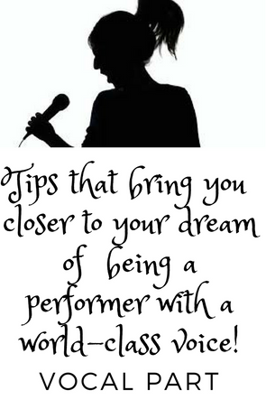 Here are some tips and tricks on singing that can help bring you closer to your dream of  being a pe