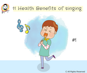 11 Health benefits of singing #1