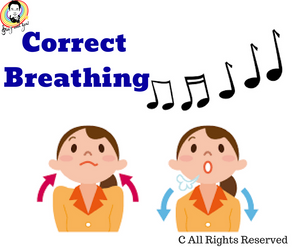 The most important thing in singing—Breathing 唱歌中最重要的事情——呼吸