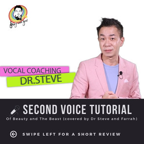 Dr. Steve Tutorial - Second Voice Tutorial