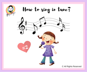 How to sing in tune? #2