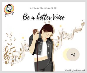 8 Vocal Techniques - Better Voice #6 8個學唱歌令聲音更悅耳的歌唱技巧 #6