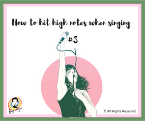 How to hit high notes when singing #3