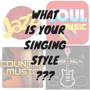 你的唱歌風格是甚麼呢? What is your Contemporary singing style?