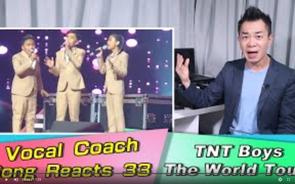 (學唱歌) Vocal Coach Reacts to TNT Boys - Together We Fly - The World Tour
