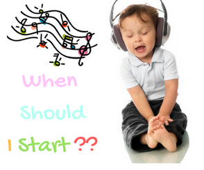 What Age Should Children Start Learning Music ? (Part 1) 小朋友應該從什麼時侯開始學習音樂呢?( Part 1)