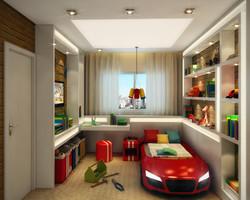 Bedroom for little boy