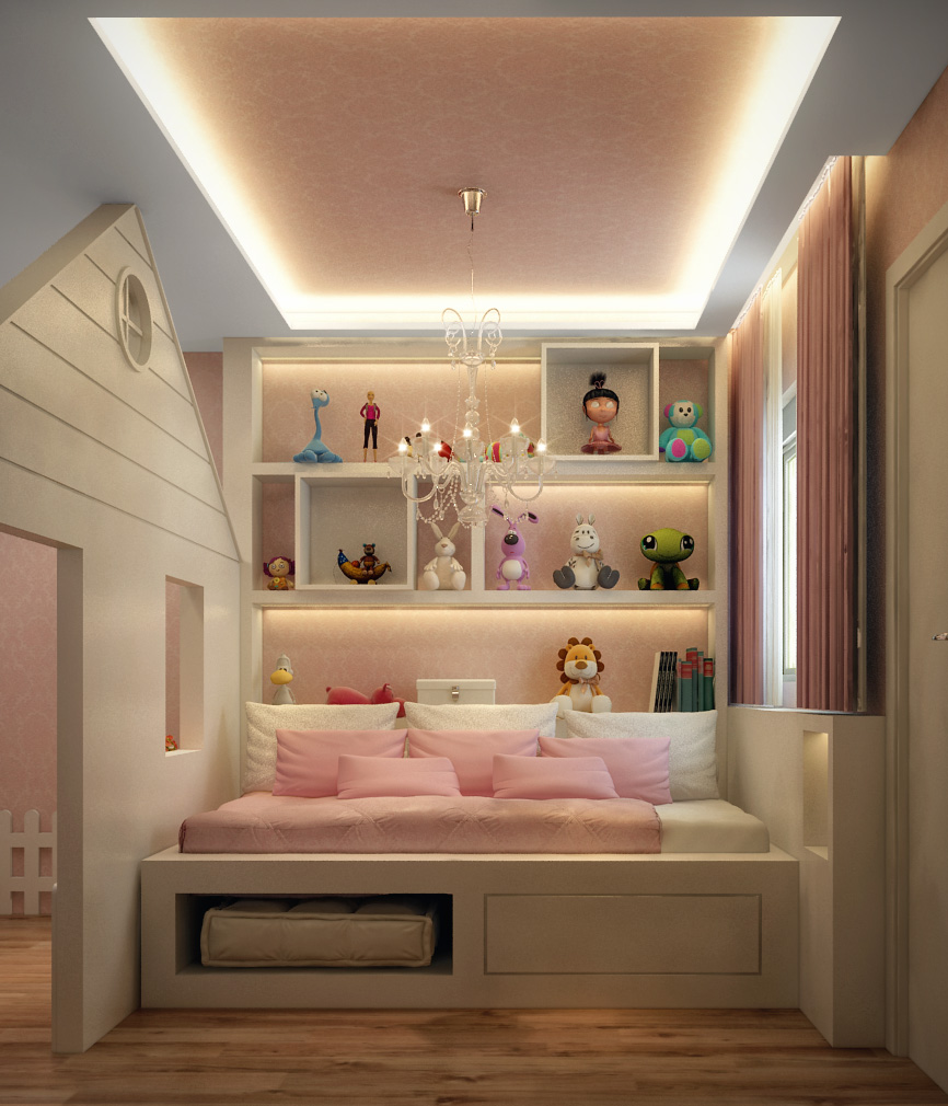 Bedroom For a little Girl in São Paulo, Brazil