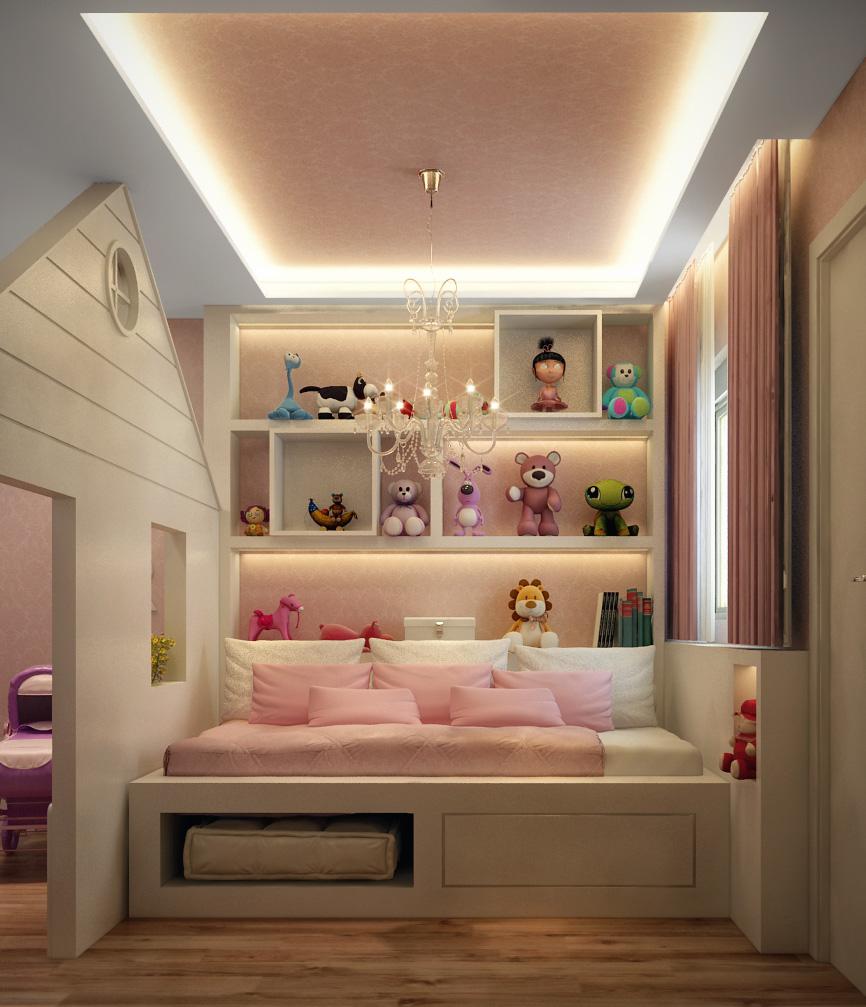 Girl Bedroom in São Paulo, Brazil