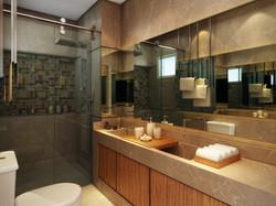 Bathroom in São Paulo, Brazil