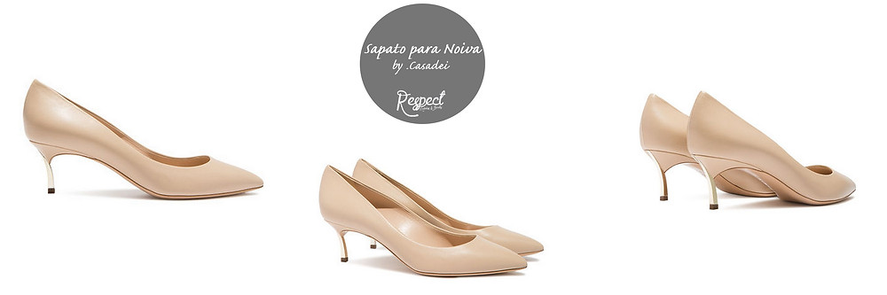 Sapato para Noiva by Casadei