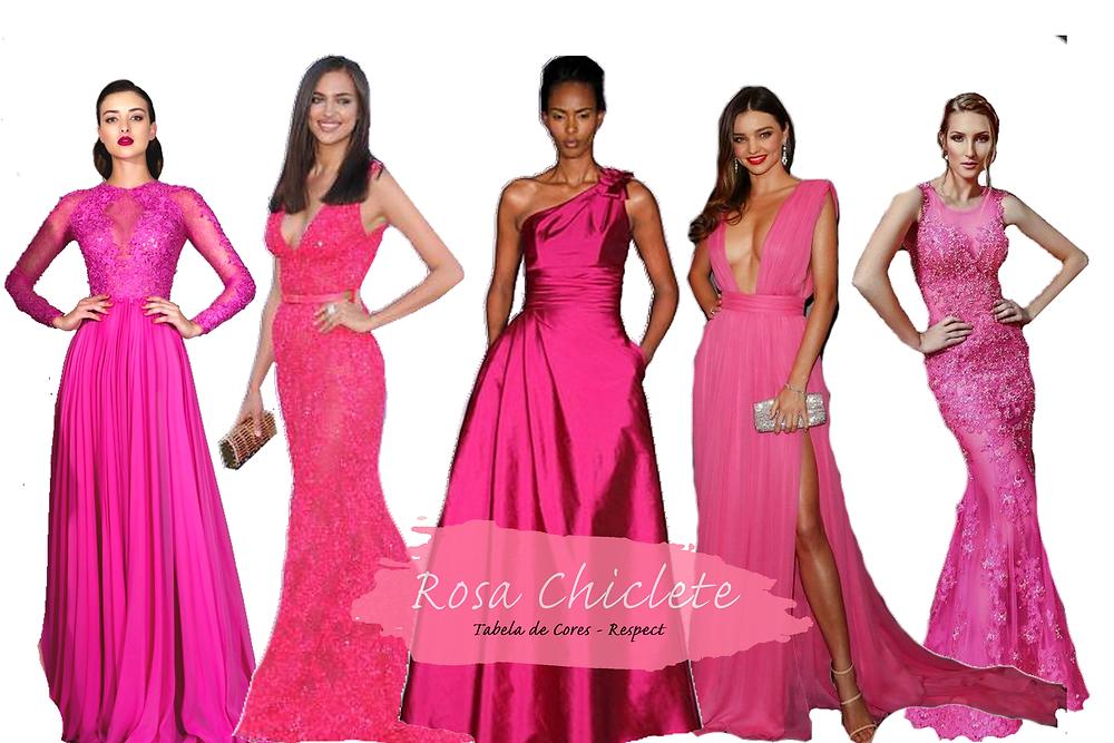 Vestido para Madrinhas - Rosa Chiclete | Tons de Rosa