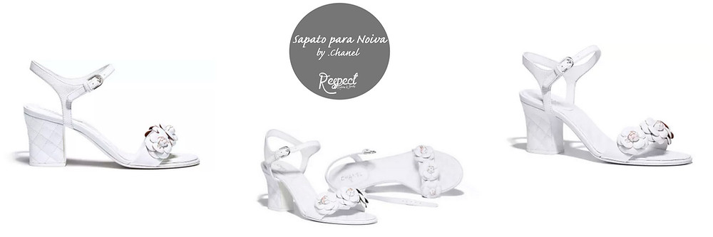 Sapato para Noiva by Chanel