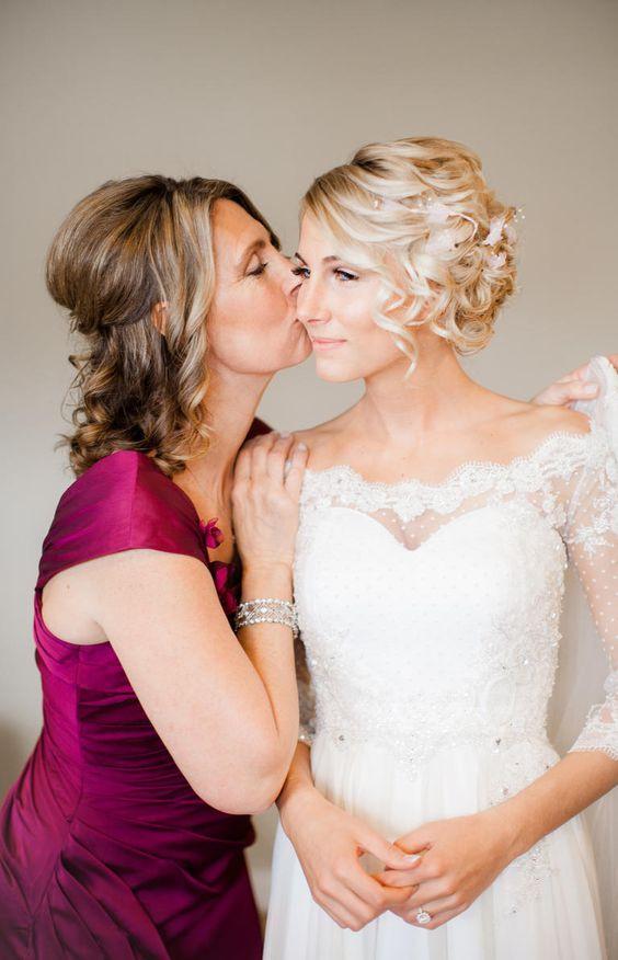 Foto da Noiva com a Mãe