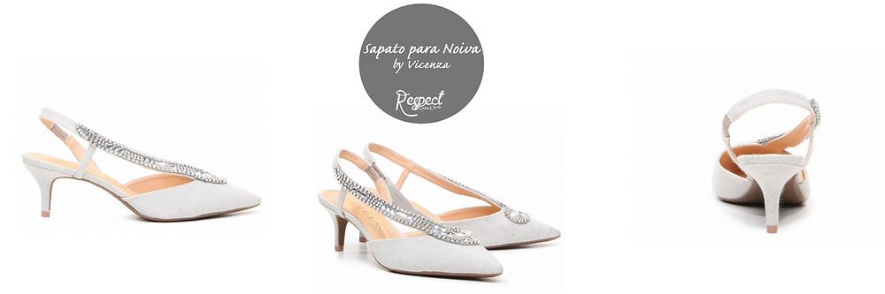 Sapato para Noiva by Vicenza