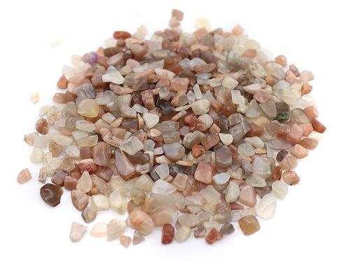 Moonstone gravel 50g