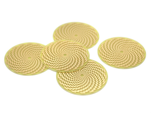 Scalar wave cosmic sensor discs 5 pieces