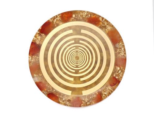 Carnelian stone MWO harmonisation disc