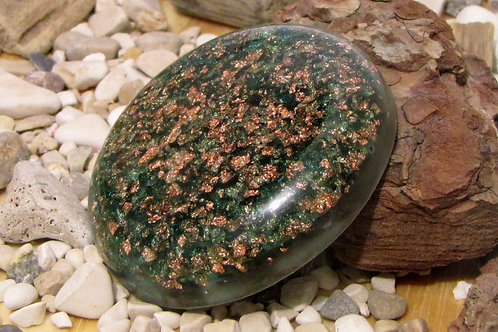Pocket size orgone disc