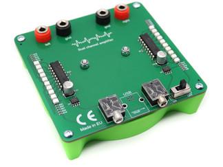 Dual channel amplifier module for Scalar Wave coils
