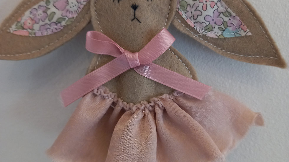 Liberty bunny wands with tutu