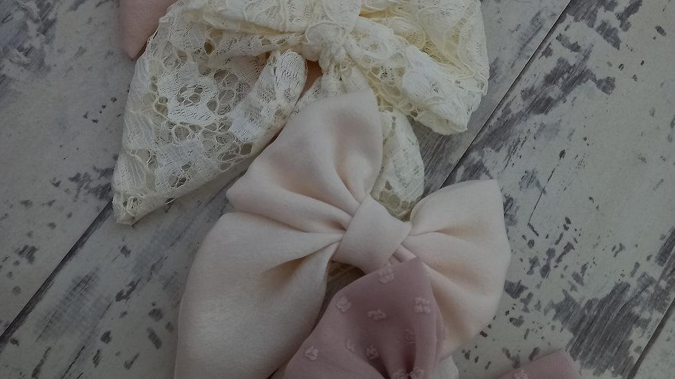 Lace sailor bow maxi ,midi or mini