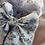 Thumbnail: Midi blue floral print sailor bow