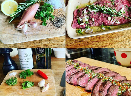 Recipe: Chimichurri Feather Blade Steak