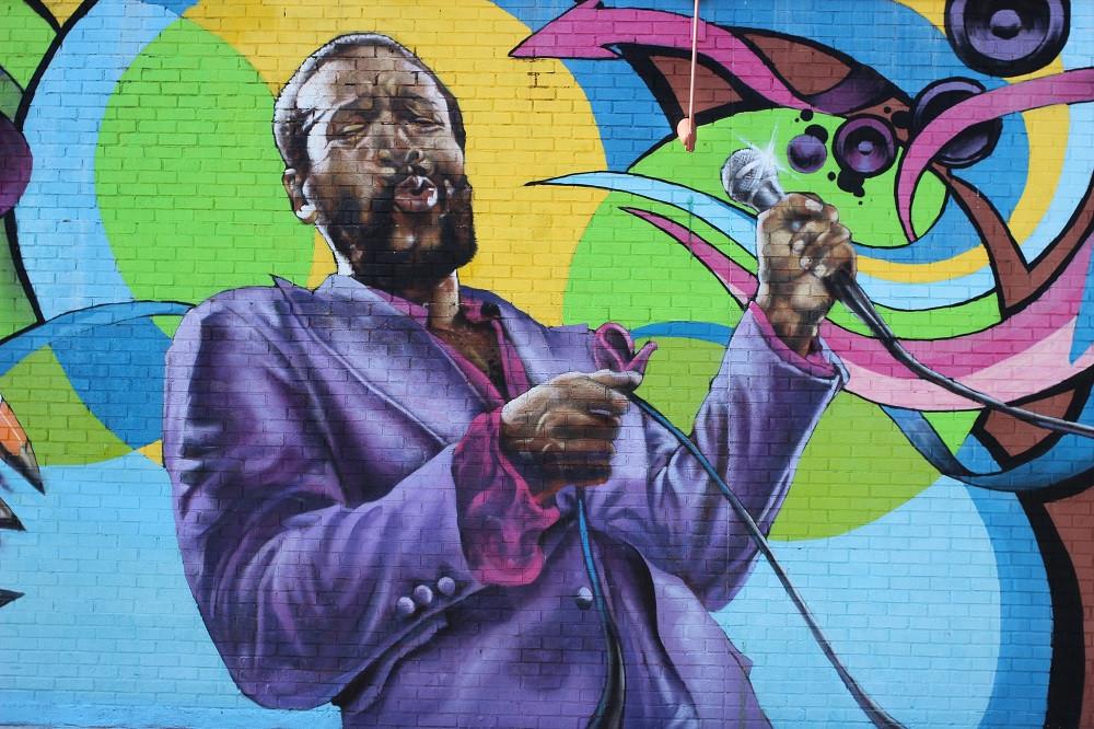 Marvin Gaye mural in Washington, D.C.