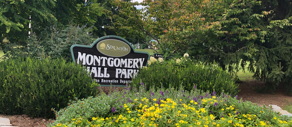 Staunton, VA's beautiful Montgomery Hall Park