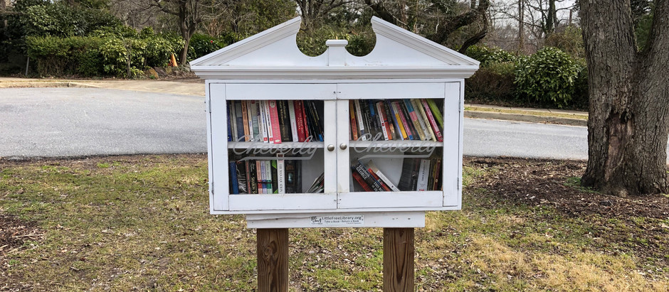 Cheverly's Little Free Libraries