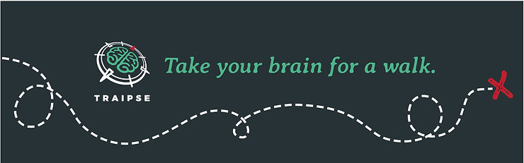 Take your brain for a walk with Traipse.