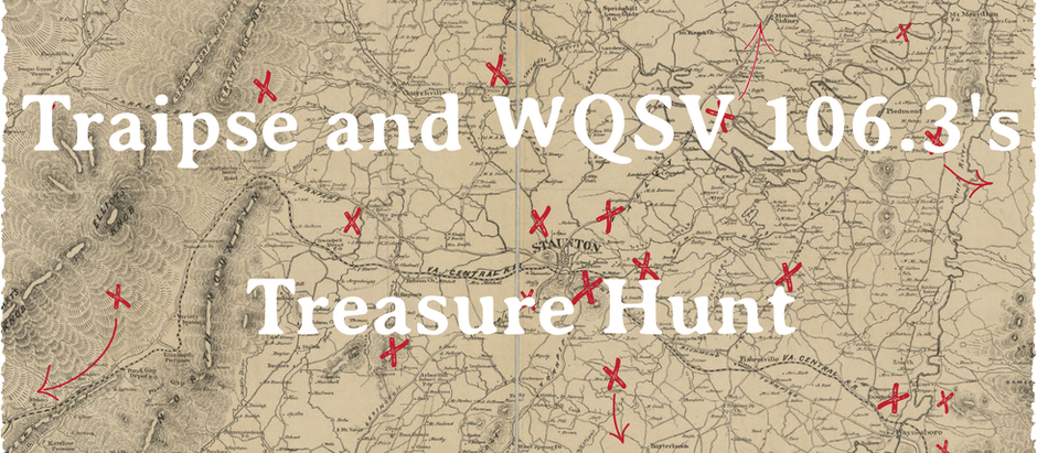 3rd Annual Traipse/WQSV 106.3 Treasure Hunt