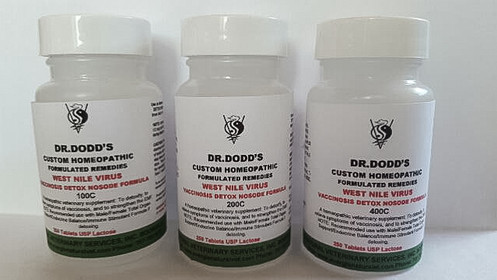 West Nile Virus Vaccinosis Detox Nosode Extended Formula - 100C, 200C, 400C