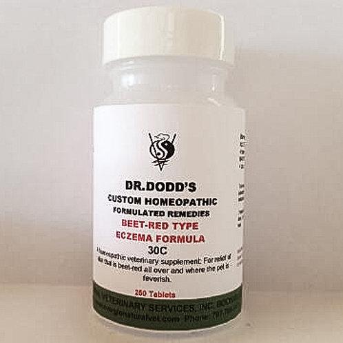 Eczema - Beet-Red Type Formula - 30C
