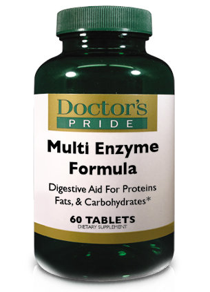 Multi Enzyme Formula - 60 tablets