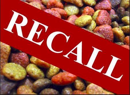Dog Food Recalled - ALERT!