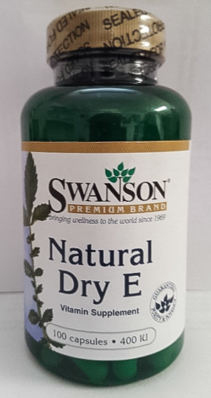 Vitamin E - Dry - 400 IU (d-Alpha Tocopheryl Succinate)